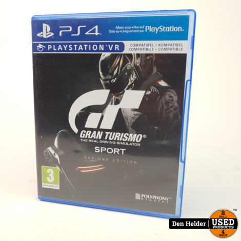 Gran Turismo Sport VR Sony PlayStation 4 Game - In Prima Staat