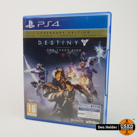 Destiny The Taken King Sony PlayStation 4 Game - In Prima Staat