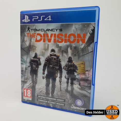 Tom Clancy's The Division Sony PlayStation 4 Game - In Prima Staat