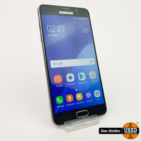 Samsung Galaxy A5 2016 16GB Zwart - in Goede Staat