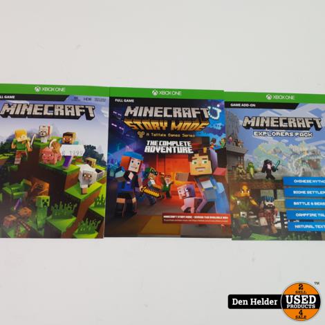 Minecraft Xbox One Edition - Nieuw