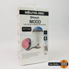 Soundlogic Soundlogic XT Mood Light / Bluetooth Speaker - In Nette Staat