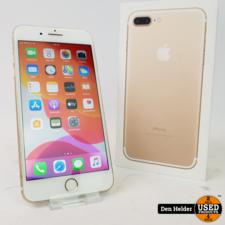 Apple iPhone 7 Plus 128GB Gold Accu Conditie 75%