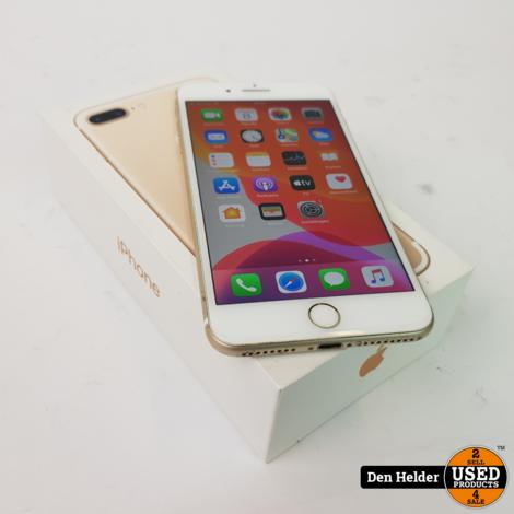 iPhone 7 Plus 128GB Gold Accu Conditie 75%