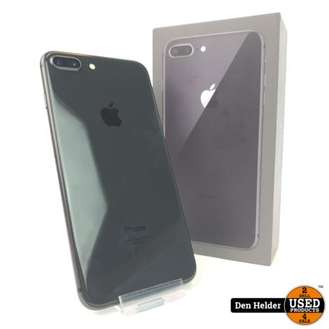 iPhone 8 Plus 256GB Black Accu 95% - In Prima Staat