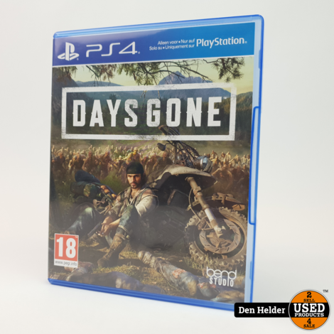 Days Gone PS4 Game - In Prima Staat