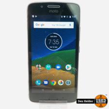 Motorola G5 16GB Zwart Android 8 - In Prima Staat
