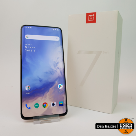 OnePlus 7 Pro 256GB Almond Android 10 - In Uitstekende Staat