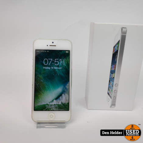 iPhone 5 16GB Silver - In Goede Staat