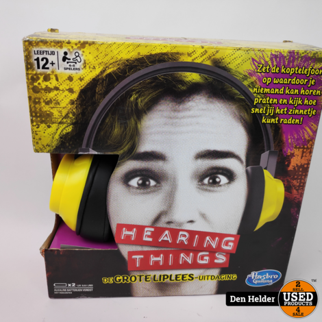 Hearing Things Hasbro Game - Nieuw