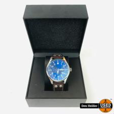 Alpha Sierra Alpha Sierra Automatic AM2 | Herenhorloge | Leer | Zwart | Ø 46.5 mm | Nieuw