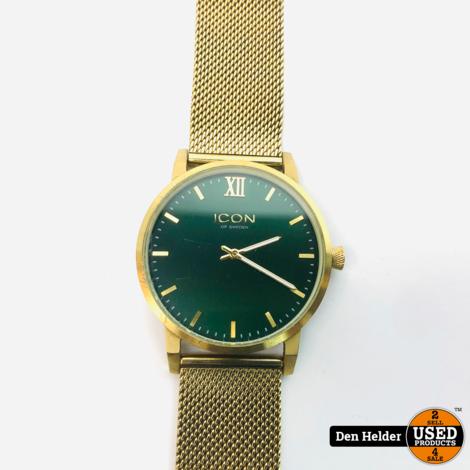 Icon Heren Horloge Goud - In Goede Staat
