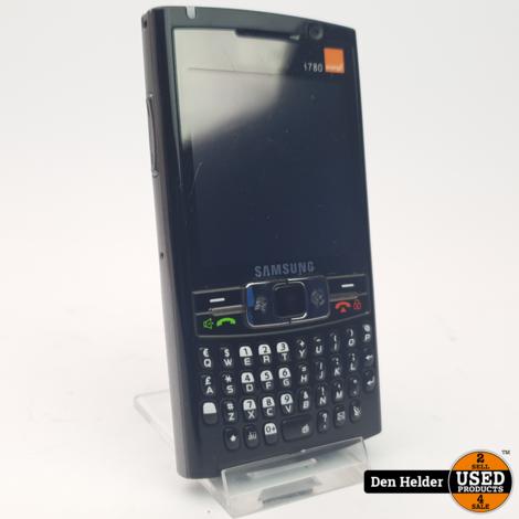 Samsung SGH-i780 Simlockvrij Telefoon - In Goede Staat