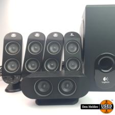 Logitech Logitech 5.1 PC Speakers Zwart - In Nette Staat
