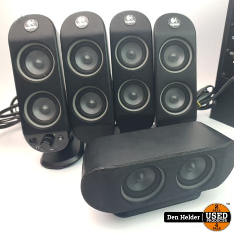 Logitech 5.1 PC Speakers Zwart - In Nette Staat