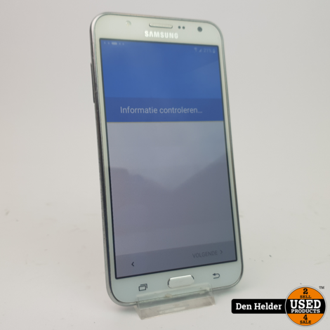 Samsung Galaxy J7 16GB Wit - In Goede Staat