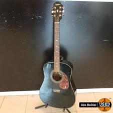 Epiphone Epiphone Gibson Akoestisch Gitaar Black In Prima Staat