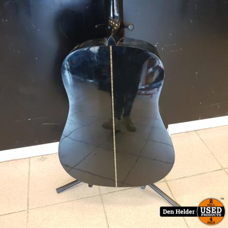 Epiphone Gibson Akoestisch Gitaar Black In Prima Staat