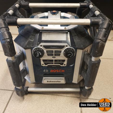 Bosch GML 50 PowerBox 360 Deluxe 14.4-18V Li-Ion Accu bouwradio met laadfunctie
