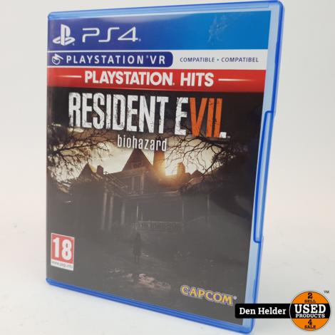 Resident Evil 7 Biohazard PS4 VR - In Prima Staat