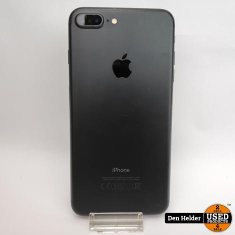 iPhone 7 Plus 32GB Black Accu 81% - In Prima Staat