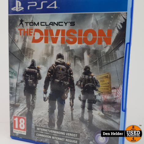 Tom Clancy's The Division PS4 Game - In Prima Staat