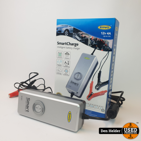 Ring SmartCharge RESC604 Acculader 12V / 4A - Nieuw
