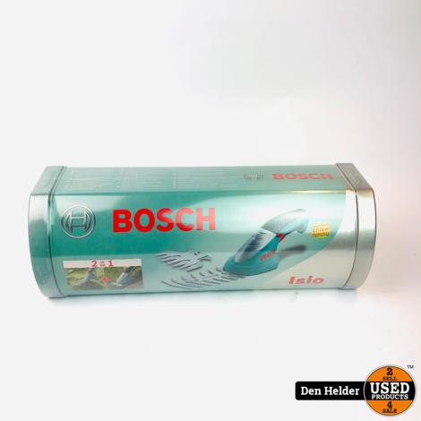 Bosch Isio Heggenschaar - Nieuw