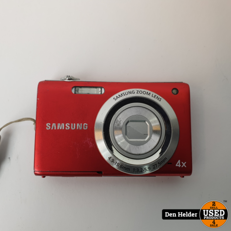 Samsung ST60 Digitale Camera 12.2 MP - In Goede Staat