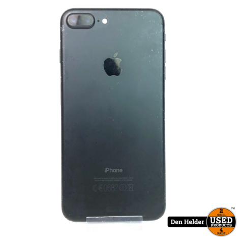iPhone 7 Plus 32GB Black - Luidspreker en Microfoon Defect