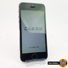 Apple iPhone 5s 32GB Space Gray - In Goede Staat