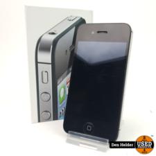 Apple iPhone 4S 16GB Black - In Goede Staat
