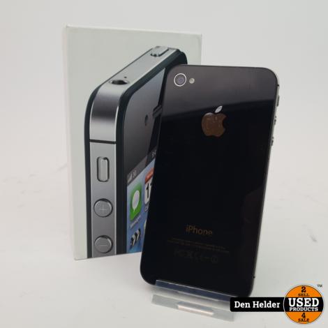 iPhone 4S 16GB Black - In Goede Staat
