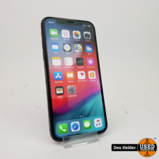 Apple iPhone X 64GB Space Gray Accu 84% - FACE ID DEFECT