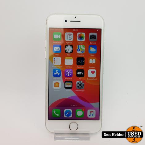 iPhone 7 32GB Silver Accu 90% - In Prima Staat