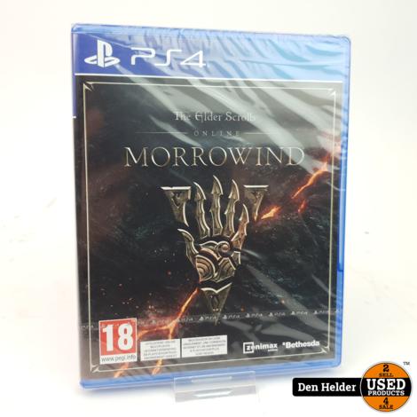 The Elder Scrolls Morrowind Sony PlayStation 4 Game - Nieuw
