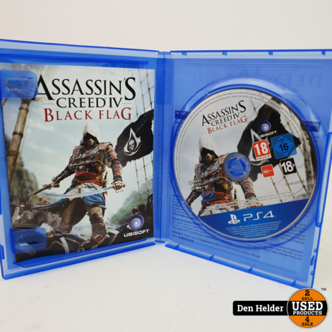 Assassin's Creed Black Flag Sony PlayStation 4 Game - In Prima Staat