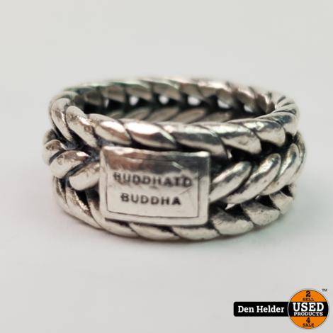 Buddha to Buddha 925 STERLING ZILVEREN NURUL RING 610 - In Goede Staat