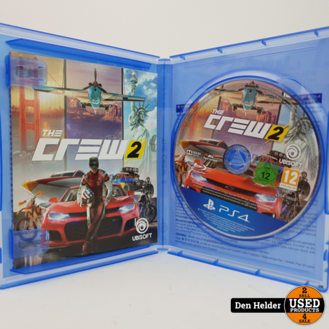 The Crew 2 Sony PlayStation 4 Game - In Prima Staat