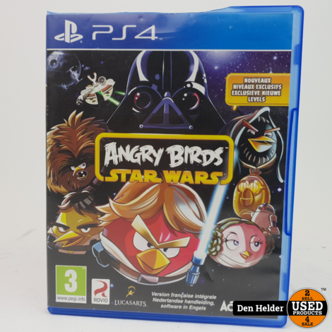 Angry Birds Star Wars PlayStation 4 Game - In Prima Staat