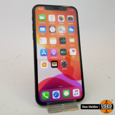 Apple iPhone X 64GB Space Gray Accu 84% - In Prima Staat