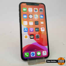 Apple iPhone X 64GB Space Gray Accu 93% - In Prima Staat