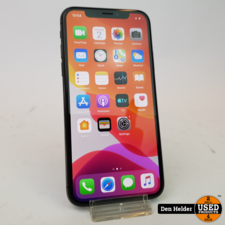 Apple iPhone X 64GB Space Gray Accu 90% - In Prima Staat
