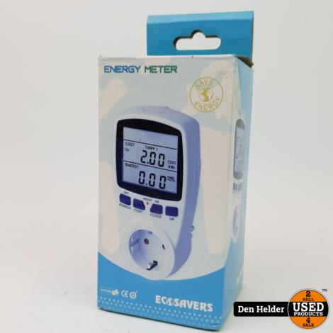 EcoSavers Energiemeter Energieverbruiksmeter - NIEUW