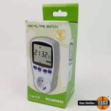 Ecosavers Digitale tijdschakelklok met Timer - NIEUW