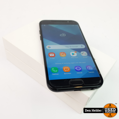 Samsung Galaxy A5 2017 32GB Black Sky Android 8 - In Prima Staat
