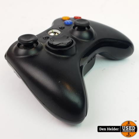 Microsoft Xbox 360 Wireless Controller Zwart - In Goede Staat