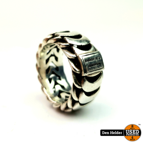 Buddha to Buddha Ring Lars Maat 20 Zilver - In Goede Staat