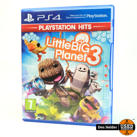 Little Big Planet 3 PS4 Game - In Prima Staat