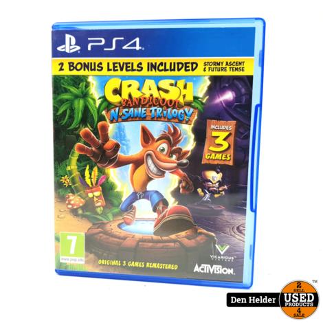Crash Bandicoot N-Sane Trilogy PS4 Game - In Prima Staat